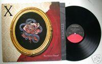 X - Ain't Love Grand - Punk Alt Rock LP