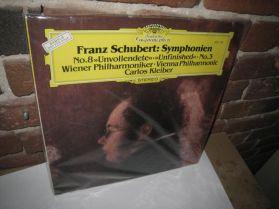 Schubert - Symphonien No. 8 + 3 - Carlos KLEIBER - Sealed DGG Classical   LP