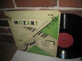 Mozart - Violin Piano Sonatas - Barylli - Skoda - Westminster WL 5109 Classical LP