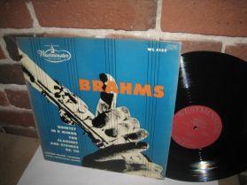 Brahms - Quintet in B Minor -  Wlach WL 5155 Mono 1952 Classical LP