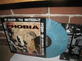 Phobia - Means of Existence - Grindcore Punk - Blue Marbled Vinyl 180 Grm LP + Poster