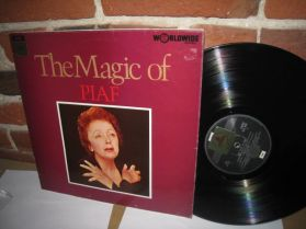 Edith  Piaf - Magic Of Piaf - UK Issue - The Legendary French Singer - LP