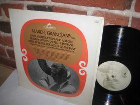 Marcel Grandjany - Ravel Debussy Roger-Ducasse - Classical Harp LP