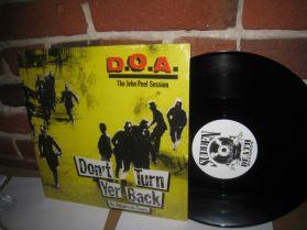 """D.O.A. -  Don't Turn Yer Back - The John Peel Session - 1984 Punk 4 Trk 12"""" EP"""