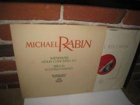 Michael Rabin -Wieniawski - Violin Concerto - Bruch  - Boult - 1957 Classical LP