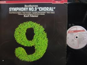"""Beethoven - Symphony no 9 in D minor, Op. 125 """"Choral"""" - Masur - Classical - LP"""