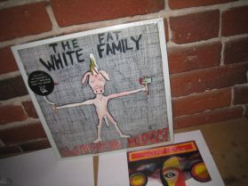 """The Fat White Family - Champagne Holocaust - 2013 Psychedelic Punk Rock LP + 7"""""""