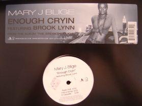 "Mary J Blige - Enough Cryin - R+B 12"""