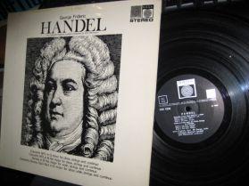 Handel - Concerto & Sonata - John Minchinton - Collegium Musicum Londini - Saga - LP