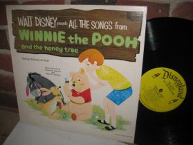 Winnie The Pooh And The Honey Tree - Sterling Holloway - Walt Disney - Childrens LP
