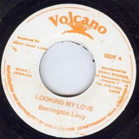 "Barrington Levy - Looking My Love - 1979 Jamaican Press Dancehall 7"""