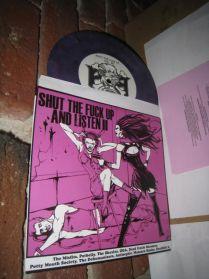 "Shut Up II - Misfits Dehumanizers Samhain - DOA Punk Goth Metal Purple 11 Trk 7"" EP"