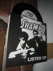 """Sham 69 - Listen Up - 25 Years - 1999 Punk 7"""""""