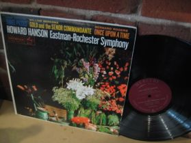Howard Hanson conducts Eastman-Rochester Orchestra - Mercury 20th Century Classical LP
