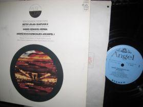 Xenakis - Betsy Jolas - Boucourechliev - ANGEL - 20th Century Classical LP