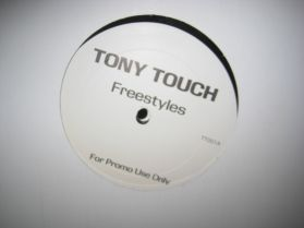 Tony Touch - Freestyles - Tape #50 - Power Cypha: 50 Live MCs - Promo Hip Hop 2LP