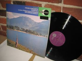 ELGAR - CAMPOLI - Sir Adrian Boult - VIOLIN CONCERTO - Decca Classical LP