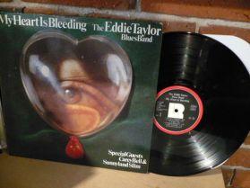 Eddie Taylor Blues Band - My Heart Is Bleeding - Blues LP