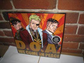 D.O.A. - We Come In Peace - 2012 Canada Punk LP