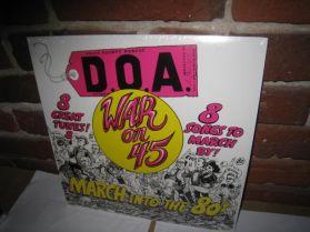 """D.O.A. - War On 45 - 1982 Canada Punk 180 Grm 8 Trk 12"""" EP"""