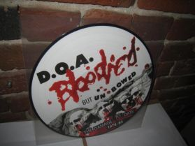 D.O.A. - Bloodied But Unbowed - Canadian Punk Picture Disc Compilation LP