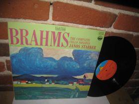 Janos Starker - Abba Bogin -  Brahms - Sonata No. 1 Classical LP