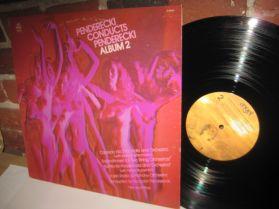 Penderecki Conducts Penderecki Album 2 - 20th Century Classical LP