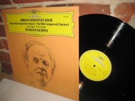 Bach - Wilhelm Kempff  Plays Bach - The Well-Tempered Clavier - Sublime Classical LP