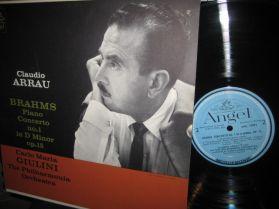 Brahms Piano Concerto No. 1 - Op. 15 - Claudio Arrau -  World's Greatest Ensembles LP