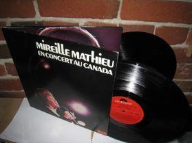 Mireille Mathieu - En Concert Au Canada - French Pop Vocal 2LP