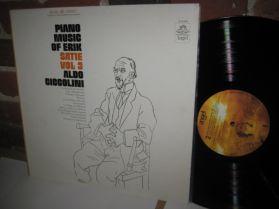 Erik Satie - Aldo Ciccolini - Piano Music Of Erik Satie Vol. 3 - 20th C Classical LP