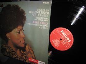 Richard Strauss - Four Last Songs - Jessye Norman - Masur - Phrases of Beauty Opera LP