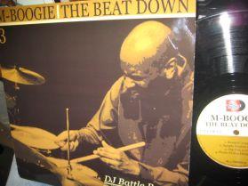 M-Boogie -The Beat Down 3 - Distinctive Underground Hip Hop - LP