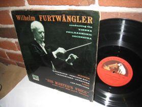 Wagner - Liszt - Willhelm Furtwangler Conducting Vienna Philharmonic HMV Classical LP