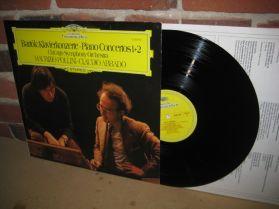 Bartok - Pollini - Claudio Abbado - Piano Concertos 1 & 2 - Chicago Symph  DGG LP