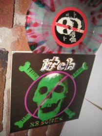 "Itch - 88 Bones -  MultiColored Punk 7"" - 45"