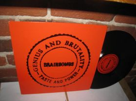 Brainbombs - Genius And Brutality - Taste And Power - Melvins 1994 Industrial Punk LP