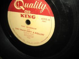 Tiny Bradshaw - Knockin' Blues / The Train Kept A-Rollin Early Rockabilly R+B Blues 78