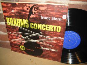 Brahms - Concerto for Violin - Isaac Stern - Concerto for Violin in D Major - LP