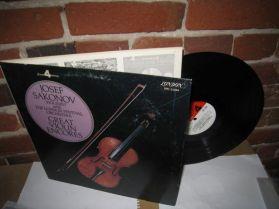 JOSEF SAKONOV - GREAT VIOLIN ENCORES - London - Classical LP