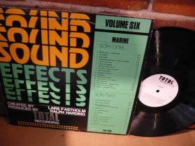 Sound Effects Vol. 6-Marine Sounds LP-Listen!!