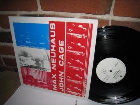 Max Neuhaus / John Cage -  Fontana Mix - Feed - Early Electronic 20th C Classical  LP