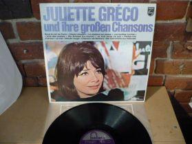 Juliette Greco - Und Ihre Groben Chansons - French LP