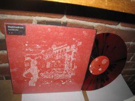 "Machinedrum - Eyesdontlie - Body Touch - Red With Black Vinyl -Downbeat D + B 12"""
