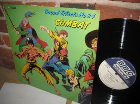 Sound Effects 24 - Combat - Karate - Horses Sword and Axe Fights -  BBC LP