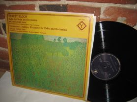 Ernest Bloch - Suite For Viola And Orchestra - 20th Century Classical LP