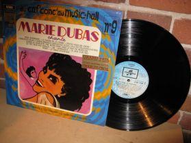 Marie Dubas - Du Caf Conc Au Music - Hall - No9 - French Pop Vocal LP