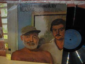 Ernest Hemingway - Reading - 1965 pressing Caedmon - Nobel Prize Speech - LP