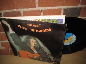 Ellen McIlwaine - The Real - Canadian  Funky Blues + Spiritual Folk Rock LP