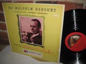Tchaikovsky - Symphony #5 - Sargent - BBC - HMV - UK Issue Classical LP
